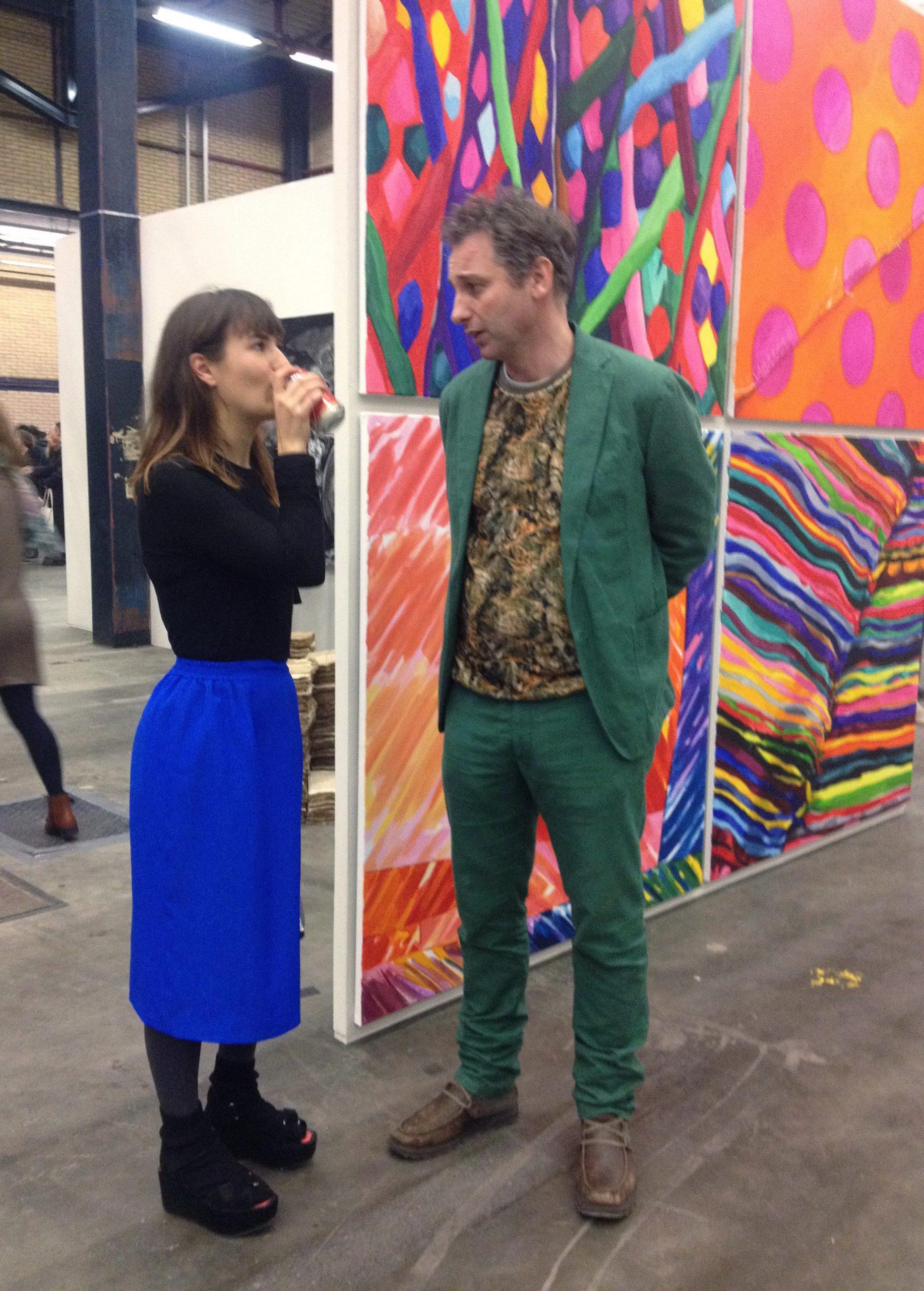 Britt Dorenbosch at Porspects & Concepts Mondriaan Fonds Art Rotterdam