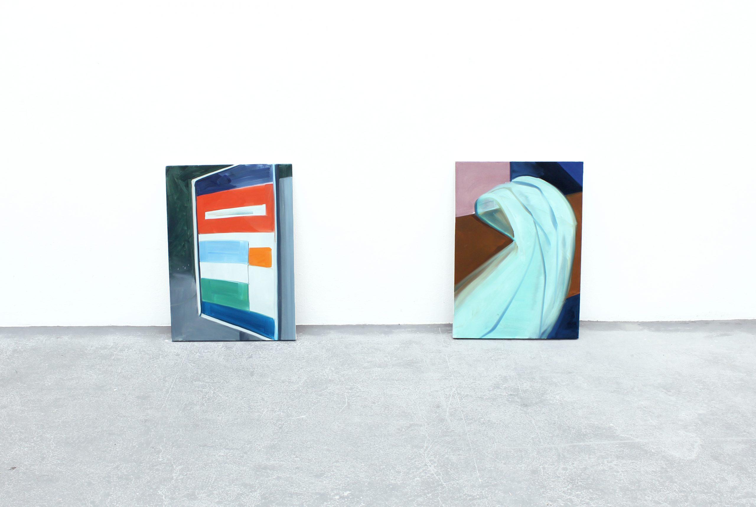 Britt Dorenbosch at Kunstpodium T with de Rode draad en Timetable