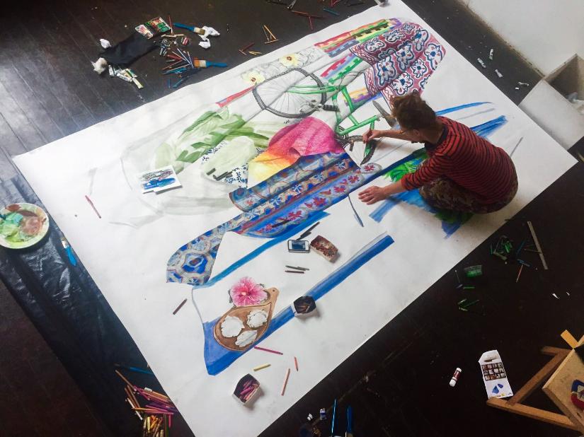 Britt Dorenbosch artist in residence Despina Rio de Janeiro Bem-vindo rio