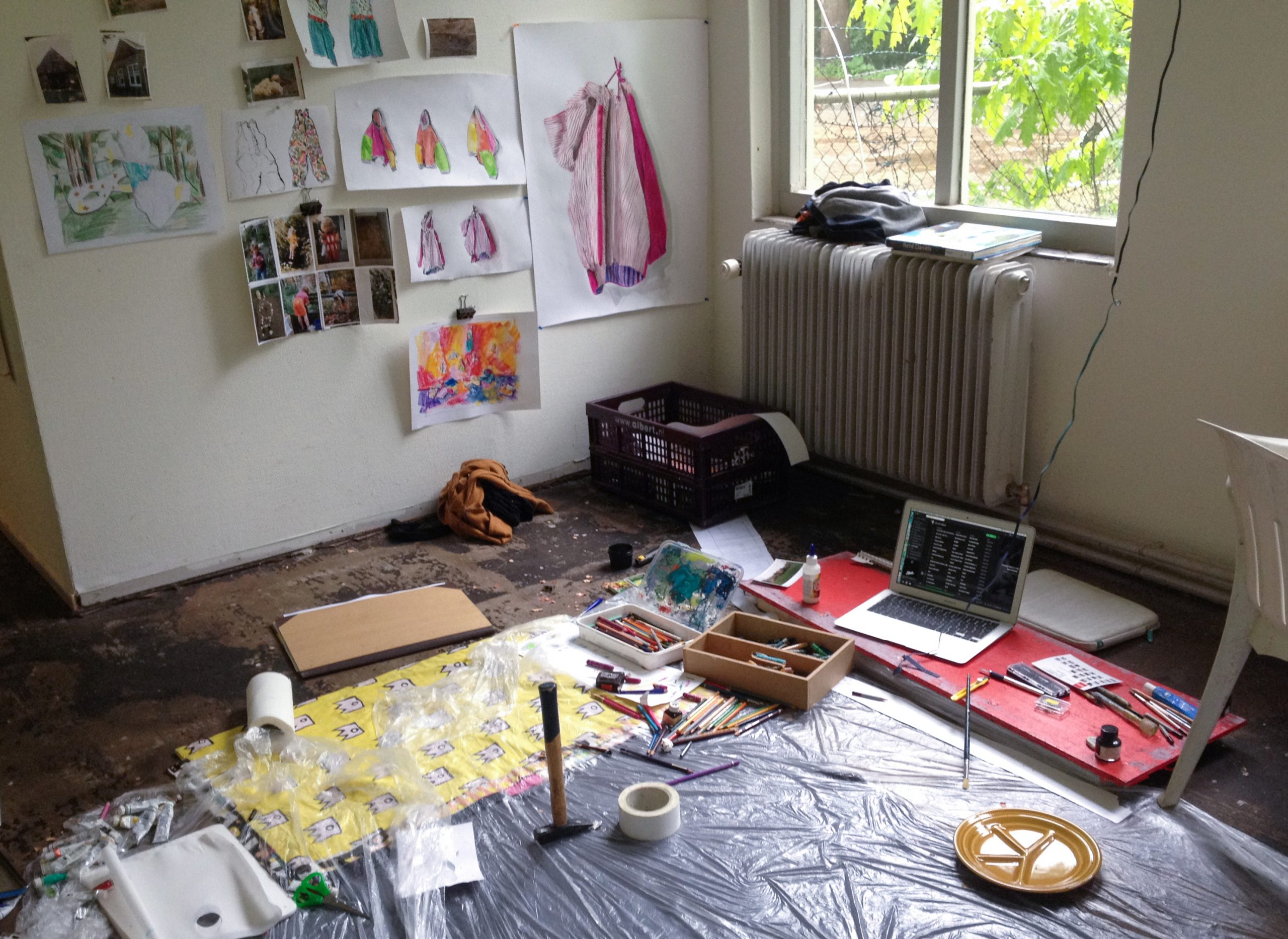 Britt Dorenbosch Code Rood Artist in Residence Portiersloge