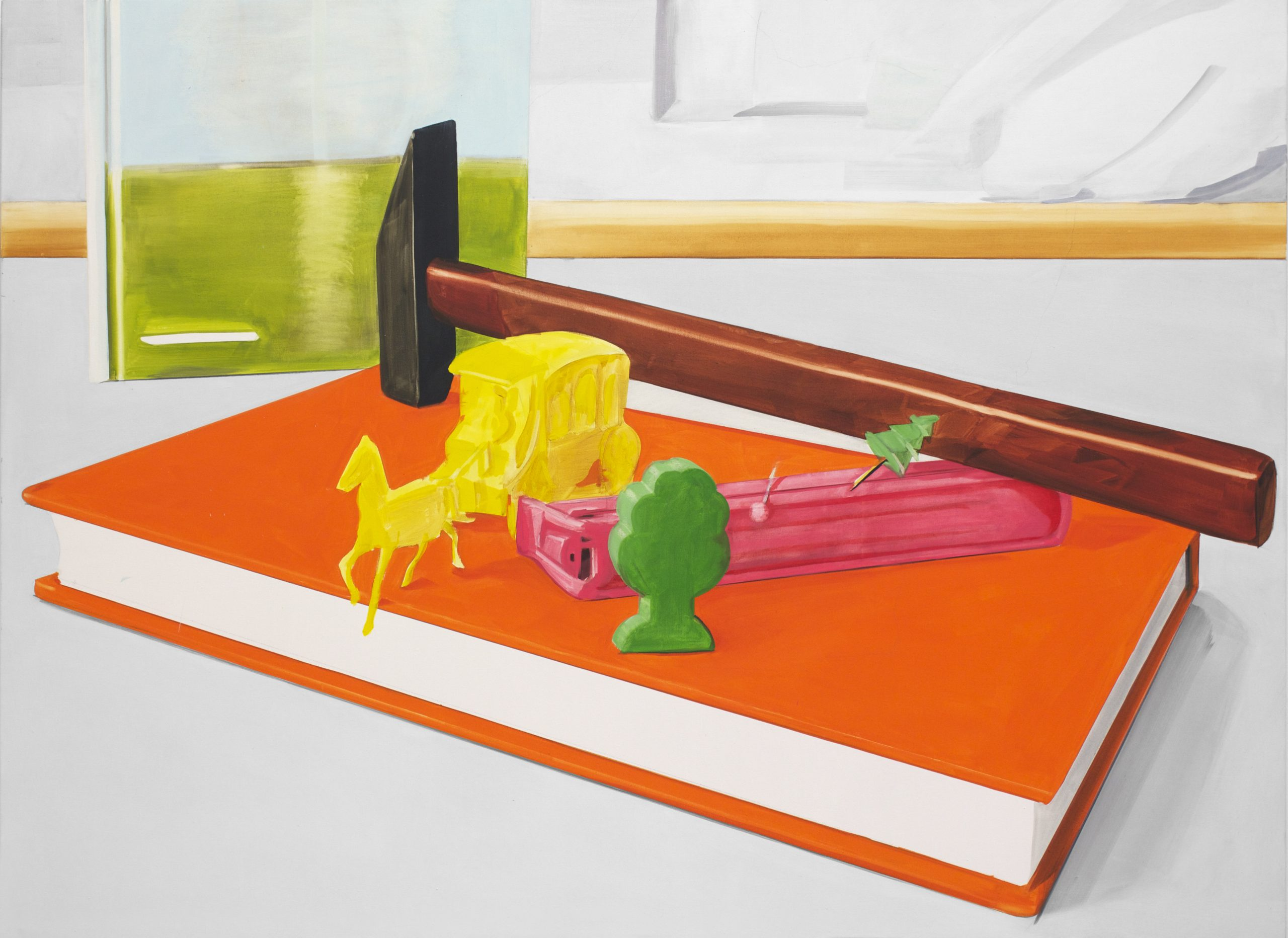 Britt Dorenbosch de ruijter hamer and horse and orange book