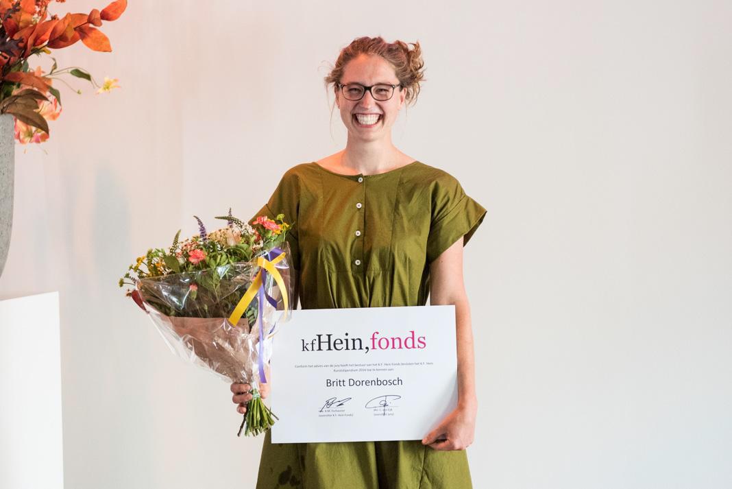 Britt Dorenbosch wins K.F.Hein Stipend