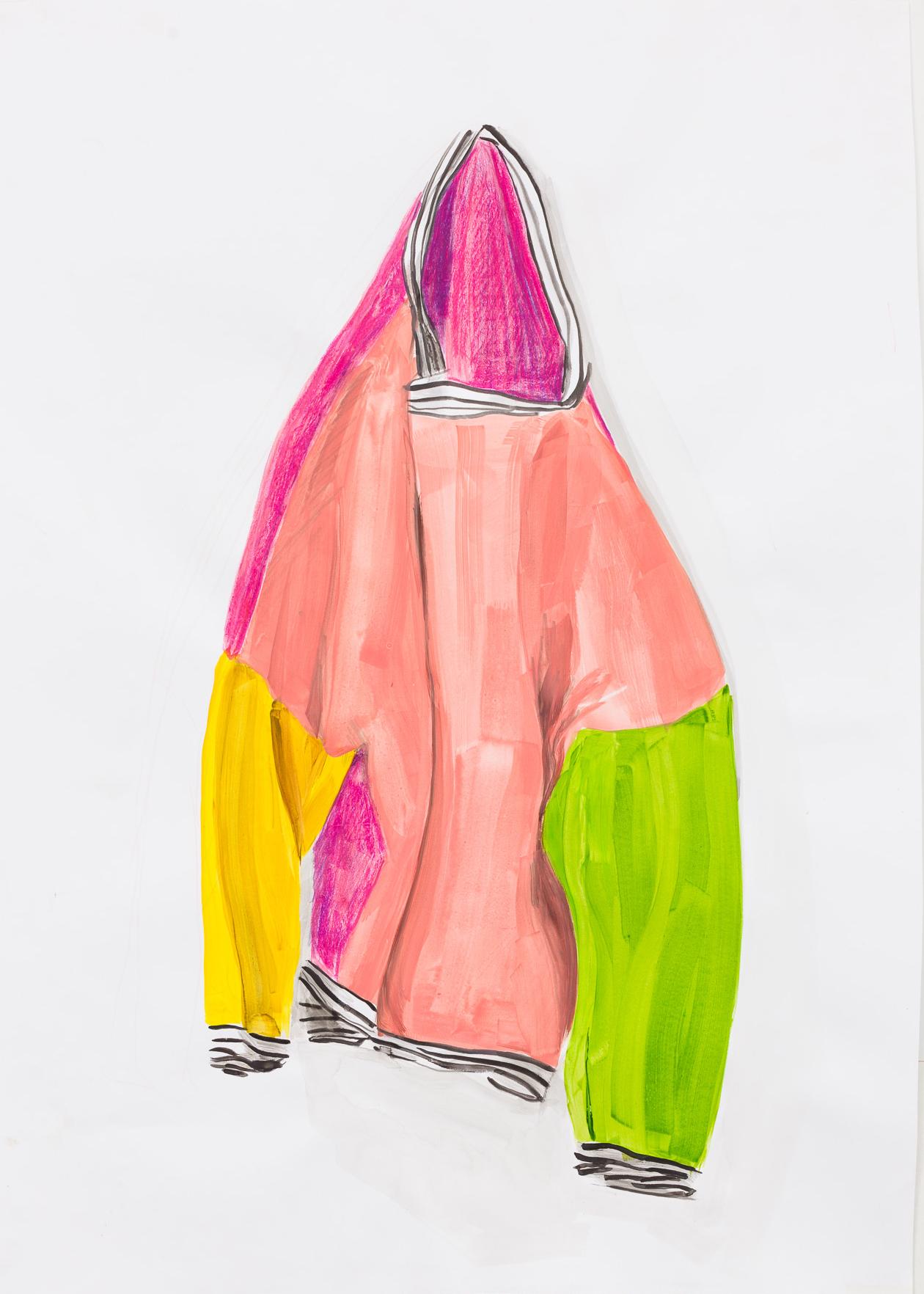 Britt Dorenbosch mijn kleurenleer trui roze kinderkleding